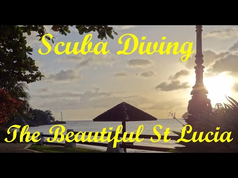 st Lucia scuba diving May 2017