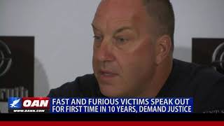 Fast and Furious victims speak out for first time in decade, demand justice