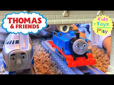 Thumbnail: Thomas Trackmaster Racing Competition! Journey Beyond Sodor with Hugo, Gordon and Flying Scotsman!