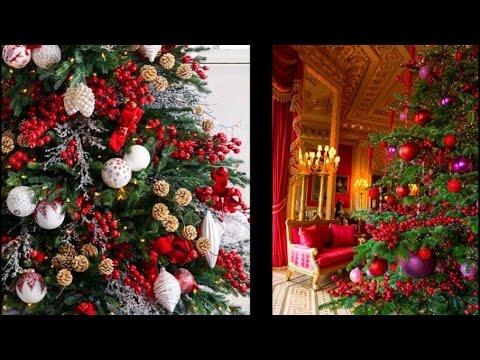 Новогодний декор комнаты и елочки. Встречаем год ОГНЕННОГО ПЕТУХА!!! Советы дизайнера.