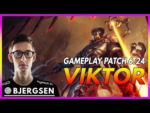 341. TSM Bjergsen Viktor vs Xerath Mid - December 20th, 2016 - Patch 6.24 Season 7