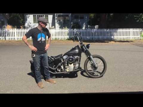 1942 F Harley Davidson Knucklehead / Block Plane Studio