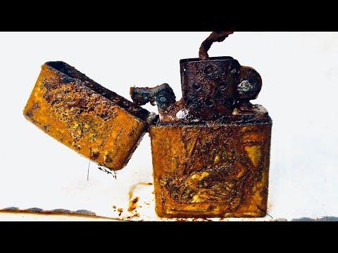 Restoration Super Old ZIPPO Lighters | Restore  40 Year Old Lighters