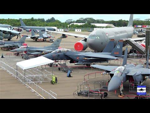 Singapore Air Show 2020 static display aircraft