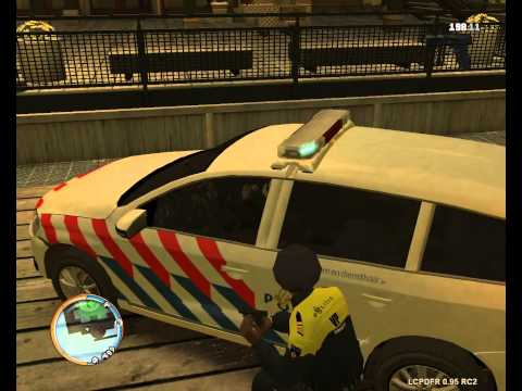 Gta iv lcpdfr day 1 dutch police youtube