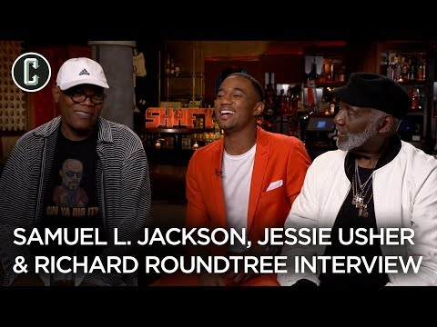 Shaft: Samuel L. Jackson, Jessie T. Usher, Richard Roundtree Interview