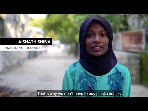 Ocean plastic program Maldives