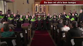 So ben mi ch'a bon tempo - The Stairwell Carollers