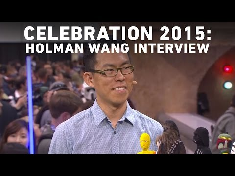 Artist Holman Wang Interview with StarWars.com | Star Wars Celebration Anaheim