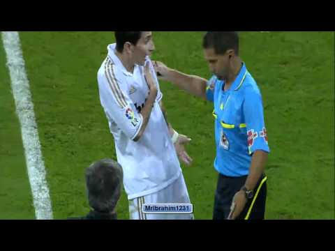 Di Maria red card - Real Madrid vs Rayo Vallecano || HD || JSC Sports HD2