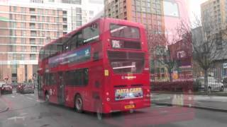 Transport for London - Red Buses at Lewisham - Colour Testing with Panasonic HC-V500M