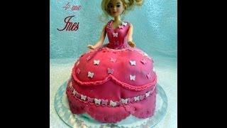 Gateau D'anniversaire Princesse Barbie Amour De Cuisine
