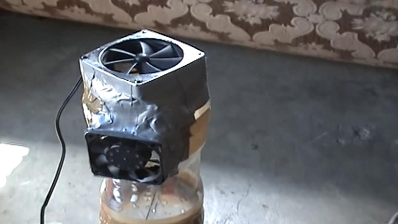 Invento casero con botes de refresco youtube - Extractores de humo ...