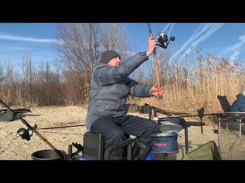 Рыбалка в декабре.Река ДОН.