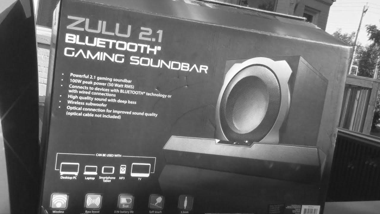 7a265557e6e Blackweb Gaming soundbar REVIEW  Bluetooth Zulu 2.1  - YouTube