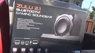 Blackweb Gaming soundbar REVIEW *Bluetooth/Zulu 2.1*