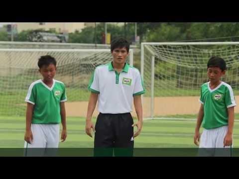 Kĩ thuật qua người trong bóng đá - Lê Công Vinh