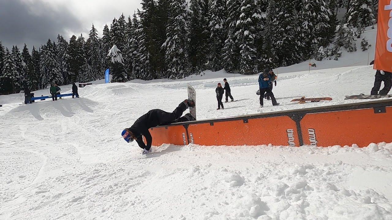 参加Seymour Rail Jam - 感受温哥华本地最高水平滑手的聚会