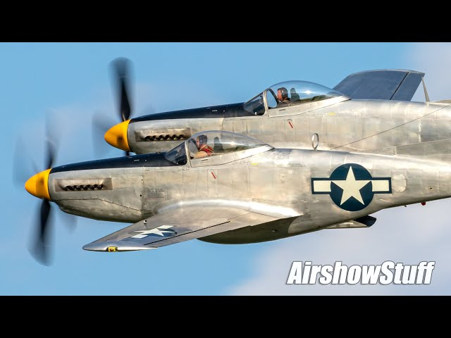 World's Rarest Airplane? XP-82 Twin Mustang In Flight!
