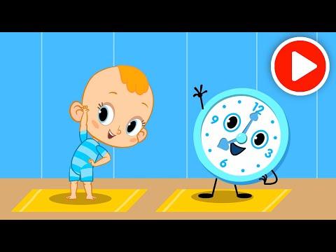 Мультфильм про часы