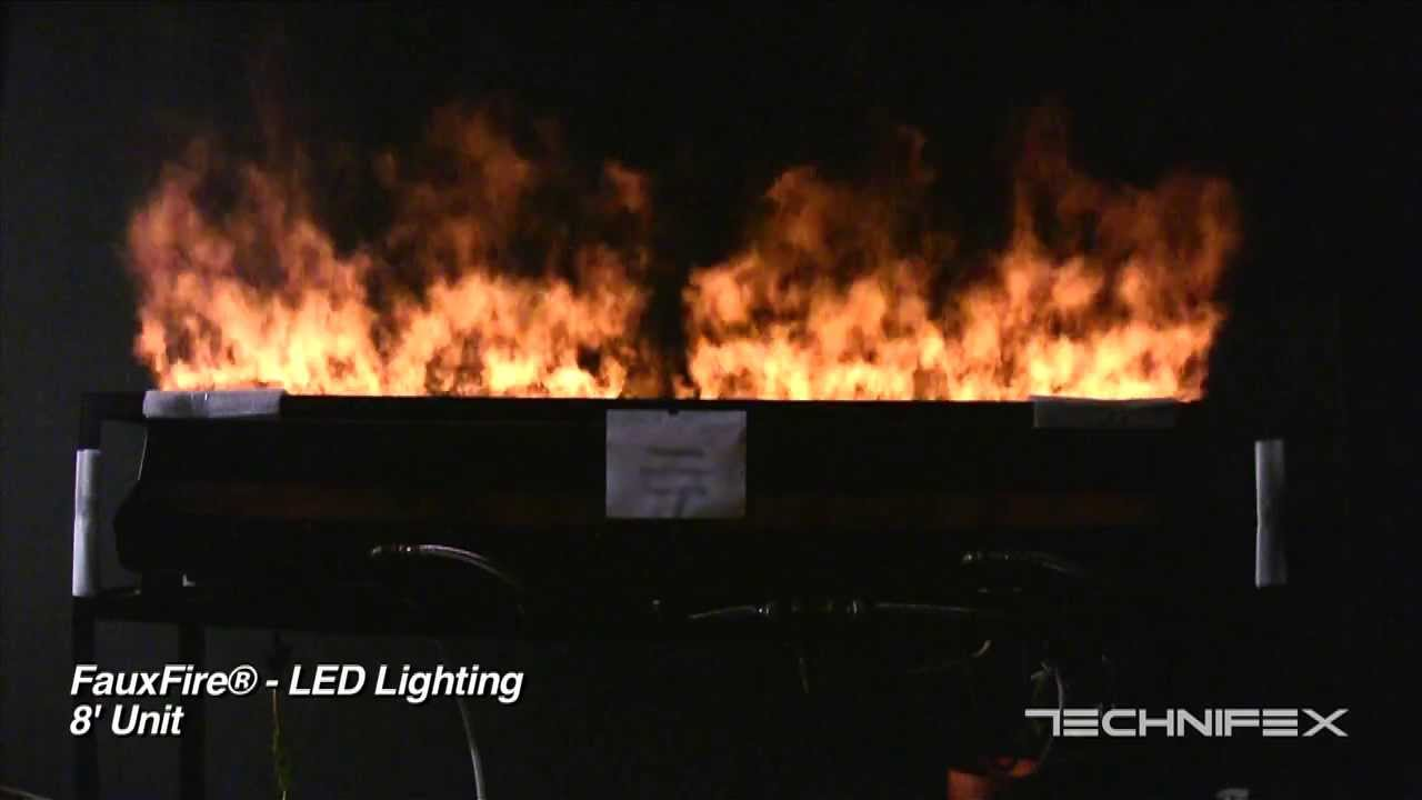 FauxFire® - Simulated Fake Fire Flame System - YouTube for Artificial Flame Light  183qdu