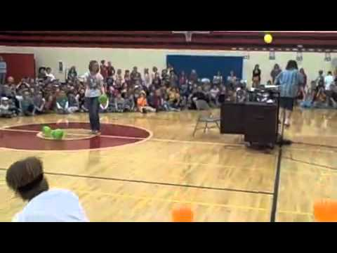 Minute to Win It at Bluffton Elementary School (6/8)