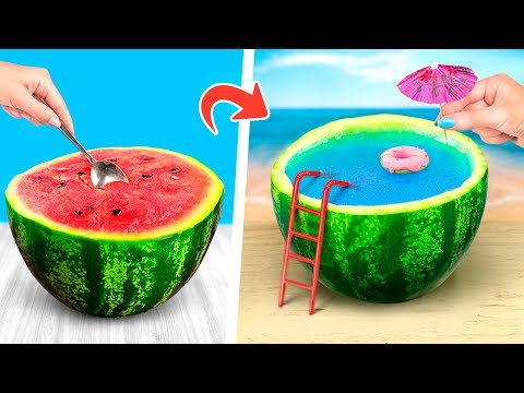 12 Fantastic Watermelon Tricks & Pranks