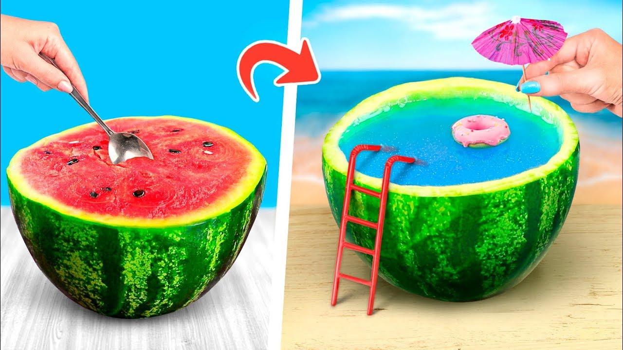 [VIDEO] - 12 Amazing Watermelon Ideas And Pranks 2