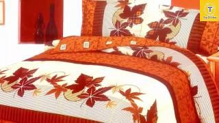 best designers bed sheet designs /bridal bed sheet design ideas/royal bed sheet 2017