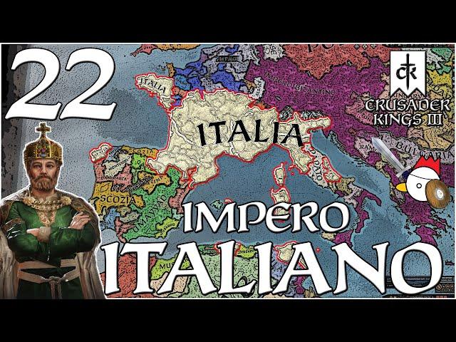 PRESSIONE SUL CONFINE BIZANTINO | Crusader Kings 3 ITA - IMPERO D'ITALIA #22