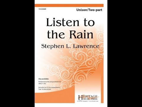 Listen to the Rain - Stephen L Lawrence