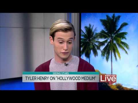 "Tyler Henry on ""Hollywood Medium"""