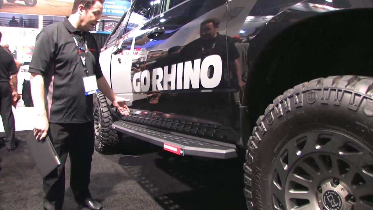 Running Boards Chevy Silverado >> Go Rhino Dodge Ram Running Board - YouTube