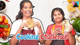 Cooking Challenge With Mom l Moral story l Ayu And Anu Twin Sisters