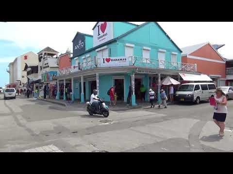 Nassau Bahamas Port and City Streets