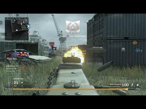 170+ kills domination on call of duty modern warfare remastered shipment