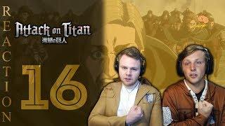 SOS Bros React - Attack on Titan Season 3 Episode 16 - A Perfect Game!