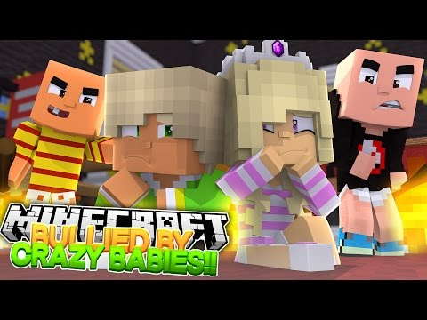 Minecraft - WHY ARE BULLIES BEARING UP BABY LEAH IN EVIL JOHNATHON'S ORPHANAGE??