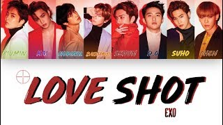 "[1 시간 / 1 HOUR LOOP] EXO 엑소 ""Love Shot"" - Color Coded Lyrics"
