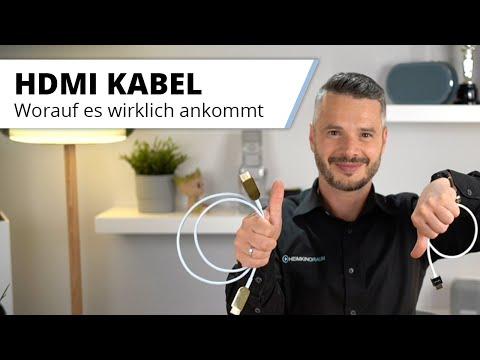 HDMI Kabel - Wo sind die Unterschiede, worauf achten? Billig oder teuer?