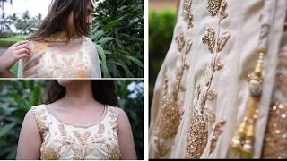 Wedding Outfit Ideas for Bride Sister, Rent Designer White & Golden Lehenga for your sisters wedding