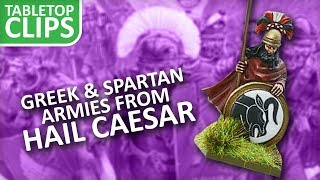 Epic Greek & Spartan Armies for Warlord's Hail Caesar