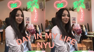 COLLEGE DAY IN MY LIFE AT NYU (New York University)