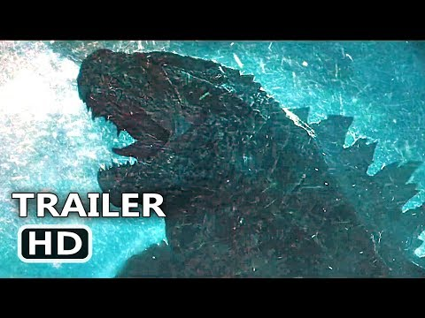 GODZILLA 2 Trailer # 3 (NEW, 2019) King Of The Monsters, Millie Bobby Brown Movie HD