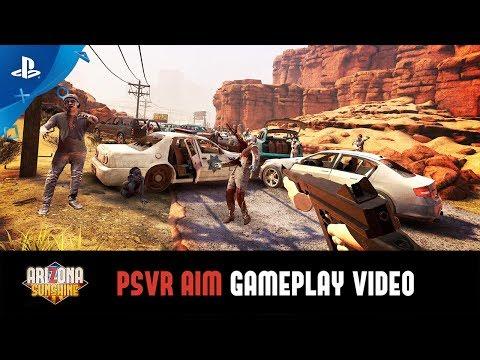 Arizona Sunshine - Aim Controller Gameplay Video | PS VR