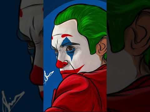 Joker Artwork | Joaquin Phoenix | Shiv artworks | #joker #jokermovie #joaquinphoenix #shorts #art