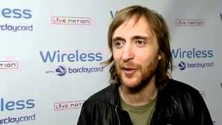 INTERVIEW: David Guetta talks death rumours, Bruno Mars and Black Eyed Peas at Wireless 2011