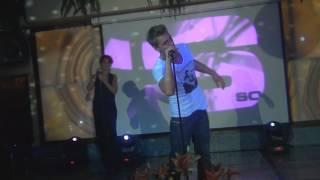 Выступление Алексей Воробьев на презентации клипа