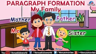 Paragraph Formation - My Family