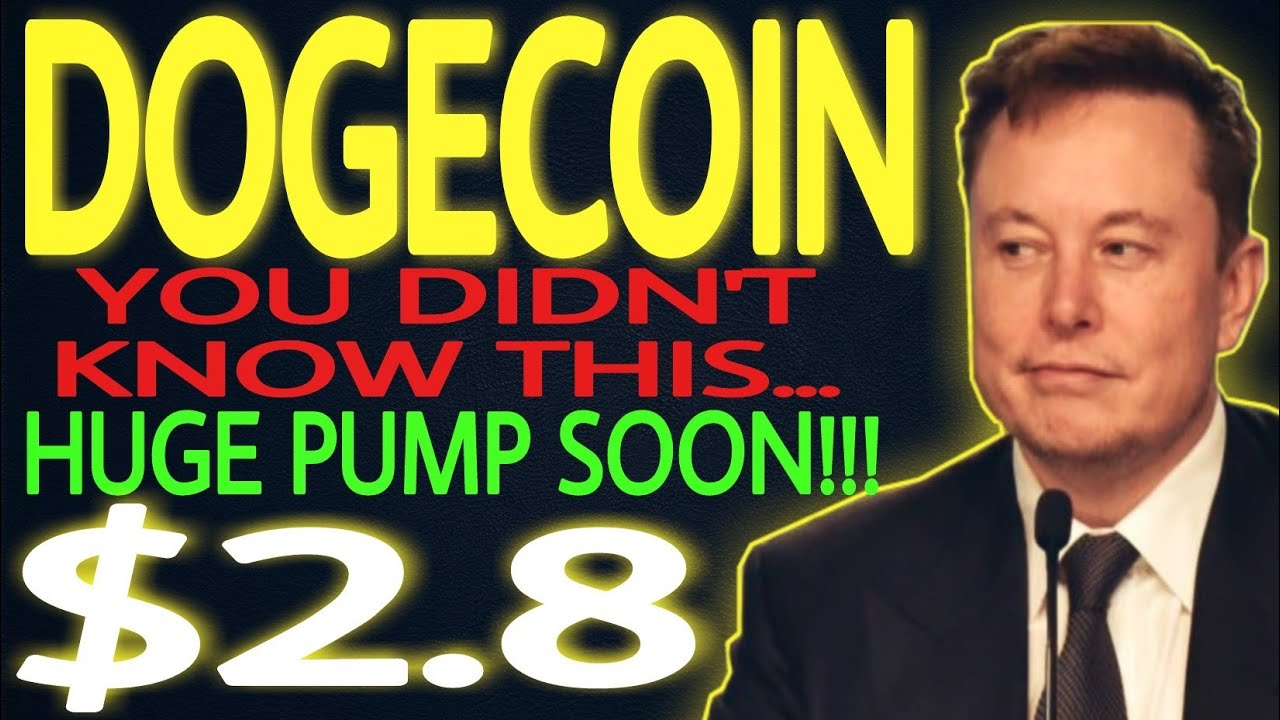 DOGECOIN GETTING READY FOR HUGE PUMP.. DOGE PRICE ...